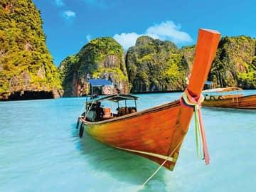 Barco phi phi island