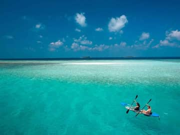 baros maldives transparent kayak