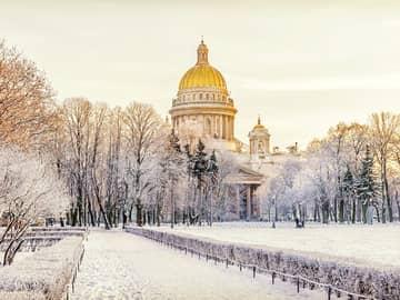 Catedral de Santo Isaac - São Petersburgo, Rússia.