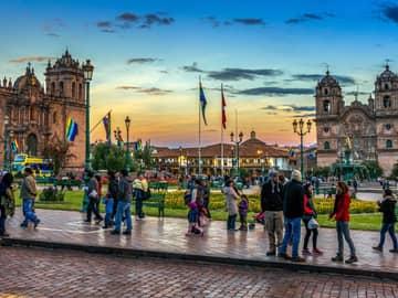 Charmosa Plaza de Armas, Cusco