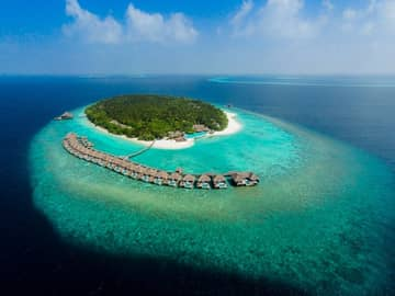 Dusit thani maldives vista aerea