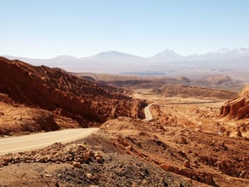 Estrada Deserto Atacama Chile