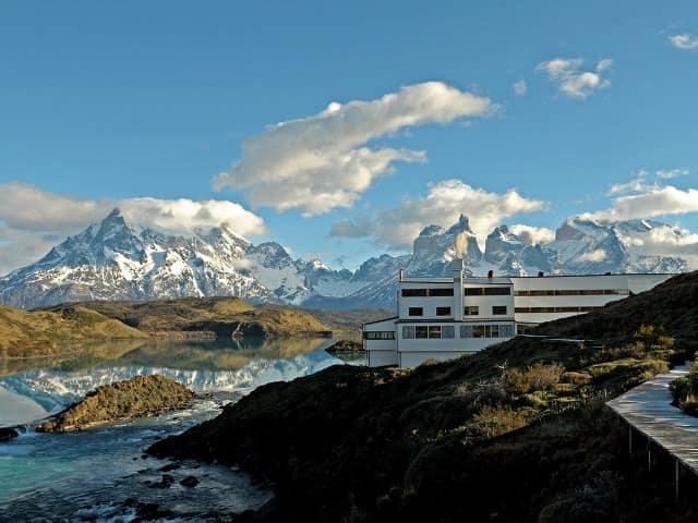 Explora patagonia vista externa hotel