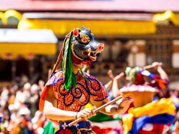 Festival Thimphu Tshechu, Butão