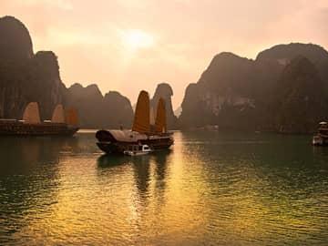 Centro do Vietnã e Camboja