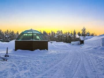 Iglu de gelo (Artic Snow Hotel) - Lapônia, Finlândia.