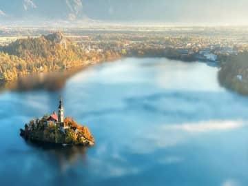 Lago bled eslevenia