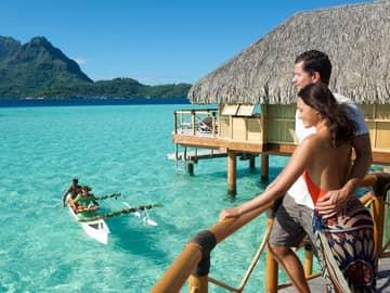 Taha'a e Bora Bora com a Rede Pearl