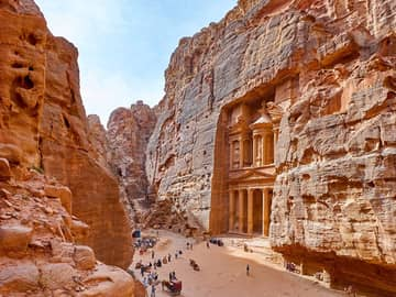 Mausoléu de Al Khazneh em Petra