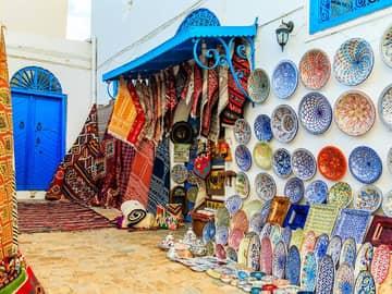Praia e Deserto na Tunísia