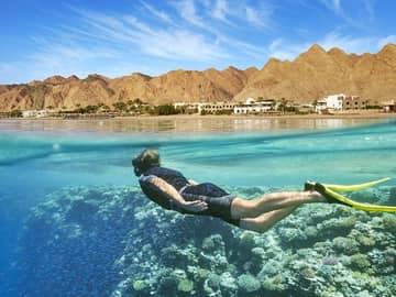 Mergulho no Mar Vermelho.