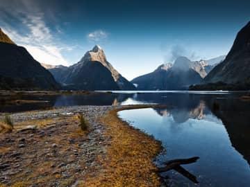 Milford Sound, Ilha Sul turismo, Nova Zelândia