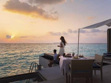 Movenpick overwater pool villa ocean