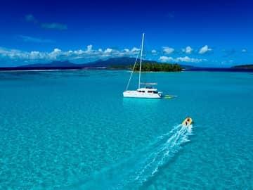 Navegando pelo Tahiti