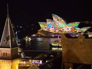 Opera House no Vivid Sydney, Austrália