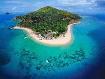 Ilhas Fiji na Castaway Island