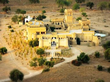 Pacote Índia: Exterior Castelo Mihir Garh, Jodhpur, Rajastão