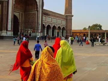 Pacote Índia: Fachada Jama Masjid, Velha Deli