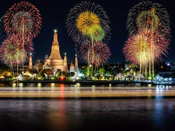 Pacote Réveillon Tailândia, Celebração Templo Wat Arun