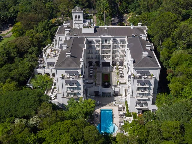 Palacio tangara vista externa