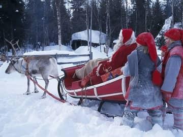 Papai Noel na Lapônia