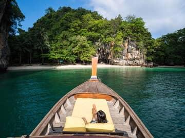 Passeio longtail boat no Sx Senses Yao Noi