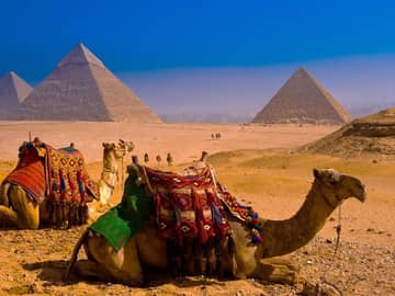 Pirâmides de Gizé, Cairo, Egito