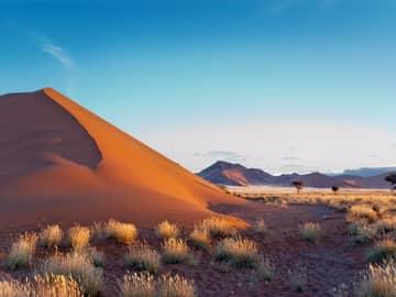 Ponto turístico Deserto Sossusvlei Namíbia