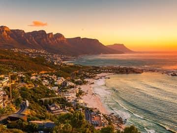 por do sol Capetown