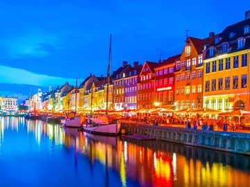 Porto Nyhavn - Copenhagen, Dinamarca.