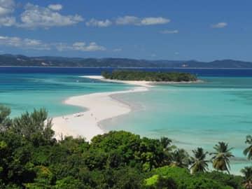 Praia ilha Madagascar