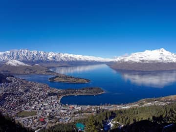Queenstown no inverno