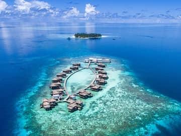 Raffles maldives meradhoo vista aerea
