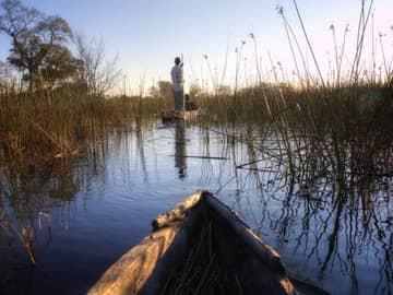 Botswana com Cataratas Vitória