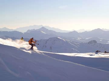 Six senses courchevel esqui offpiste