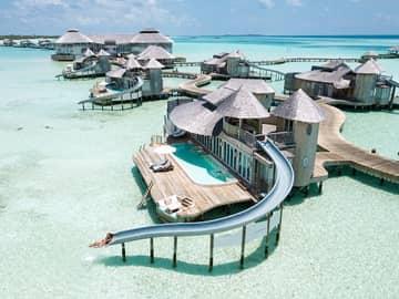 Ilhas Maldivas no Soneva Fushi e Soneva Jani