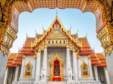 Templo Benchamabophit - Bangkok