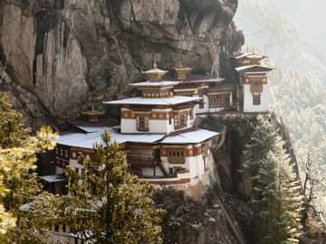 Viagem Butão Monastério Taktsang Tiger's Nest Butão