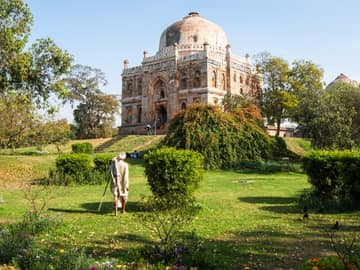 Viagem Índia: Jardins Lodhi, Nova Déli