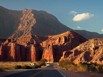 Vista estrada calfayate