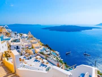 Atenas, Míconos & Santorini