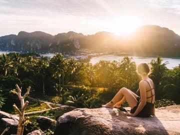 Vista phi phi island