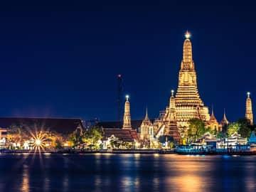 Wat arun bangkok tailandia