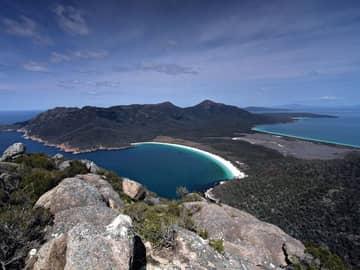 Wineglass Bay, Tasmania, Austrália