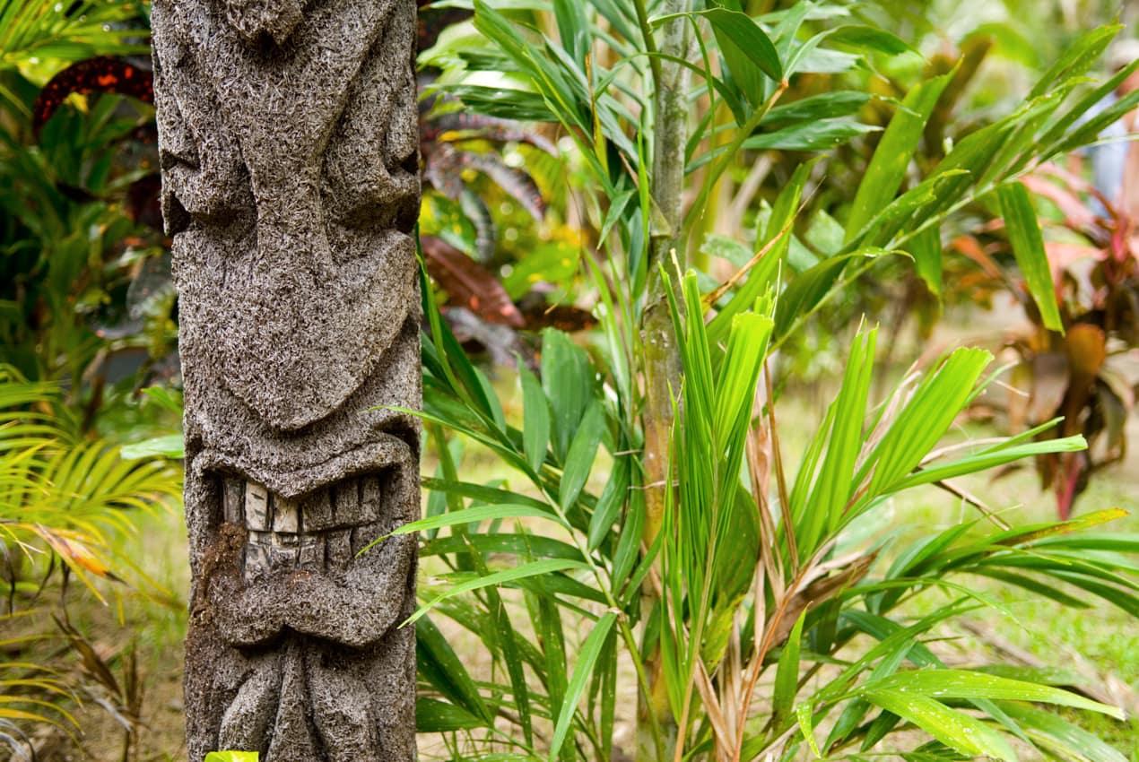 Escultura fijiana vegetação, Ilhas Fiji