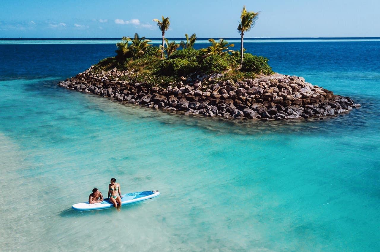 Six Senses Fiji Stand Up Paddle