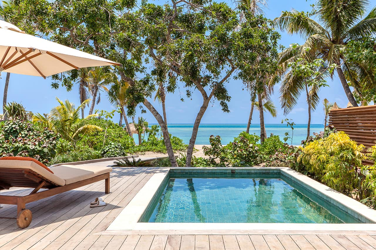 Beachfront Pool Villa Six Senses Fiji