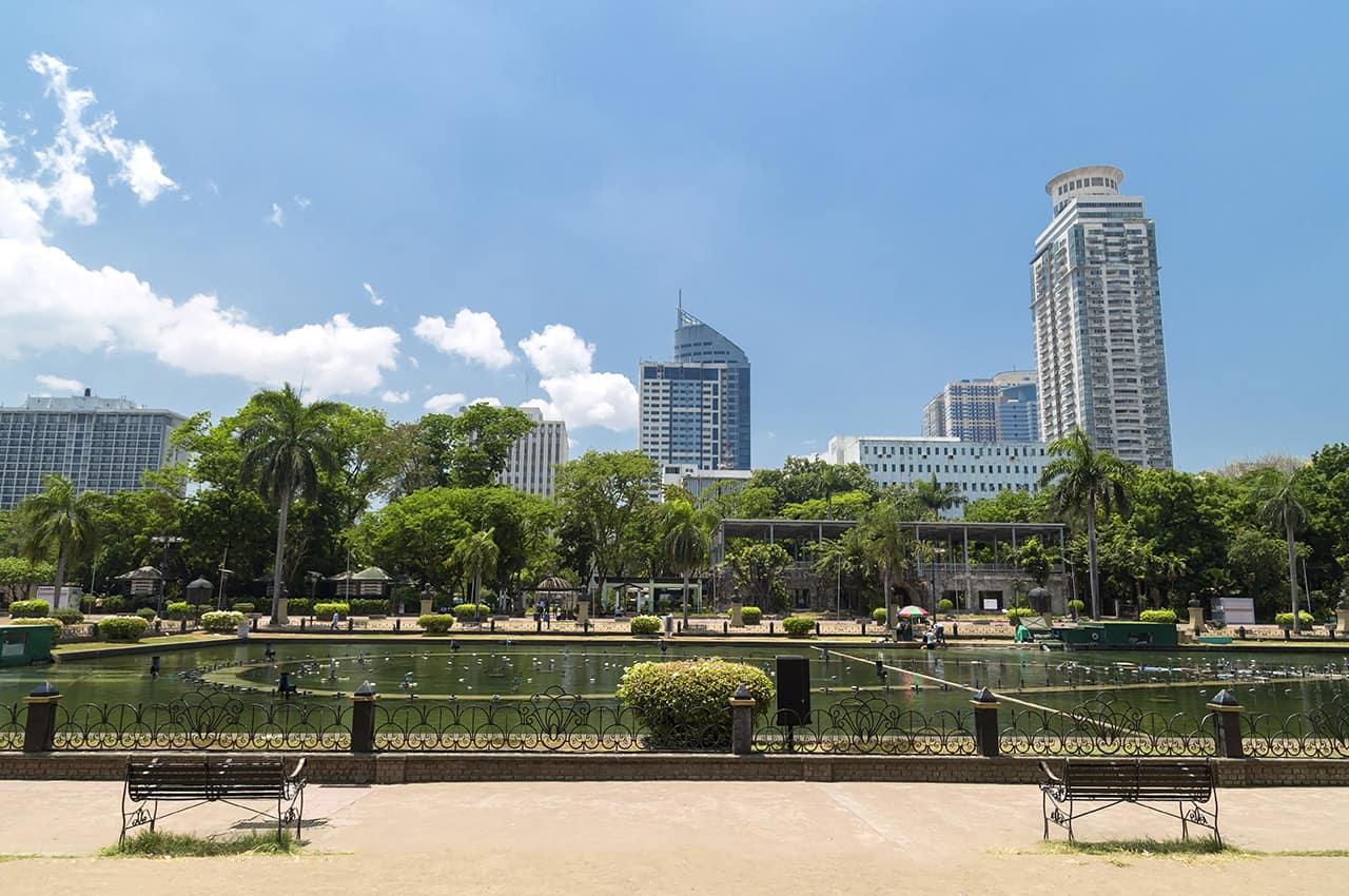 Parque Rizal, em Manila, Filipinas