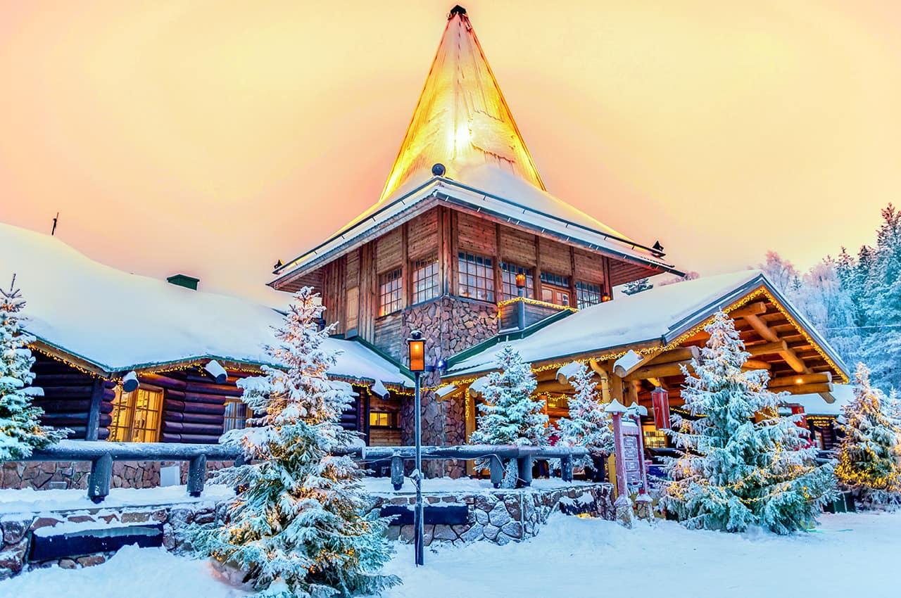 Vila do Papai Noel - Lapônia, Finlândia.