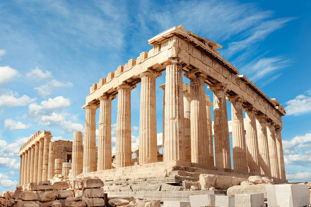 Acrópole de Atenas - Grécia